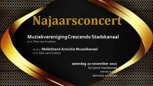 Najaarsconcert @ Sporthal De Spont